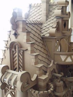 Cardboard Castle (details are my inspiration for the play castle I want to make)