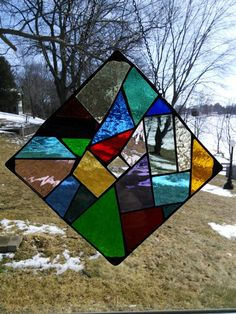 22ec02f88ae8c2 Crazy quilt stained glass. Val Peters · Stuff I Made · Stained Glass  Starfish Flip Flops Stained by GalaGardensGlassArt ...