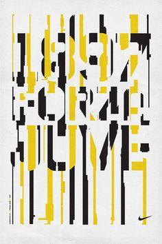 NIKE T-SHIRTS by Mark Brooks, via Behance