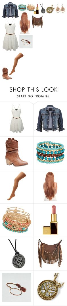 """""""Cool and Casual"""" by dragonladydoctor ❤ liked on Polyvore featuring moda, LE3NO, maurices, Wet Seal, Madison Parker, ALDO, Tom Ford, Liquorish, American Eagle Outfitters e Sweet Romance"""