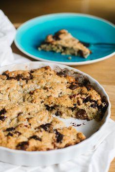 Cookie Cake mit Schokolade, Pekannüssen und Fleur de Sel – ivy.li