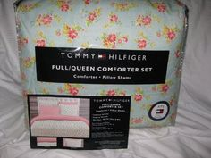$84.99 Tommy Hilfiger Luxurious Comforter & Two Bed Pillow Shams Matching Set Floral Print Bedding Collection Size Full/queen by Tommy Hilfiger, http://www.amazon.com/dp/B009CZV83W/ref=cm_sw_r_pi_dp_nEuprb0HCG1H0