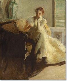 Edmund Charles Tarbell - My Sister Lydia.