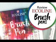 In deze video gaan we aan de slag met de nieuwe Ecoline Brush Pennen van Talens. Ik laat je zien hoe je een mooie achtergrond maakt voor een zelf geschreven ...