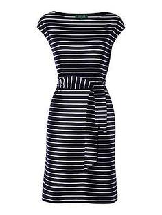 Lauren by Ralph Lauren Richardo boatneck dress
