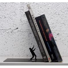 'Falling Books' bookend.