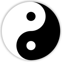 I never realized it until now, but yin and yang is an example of positive/negative space. Its true, since they represent the opposites of the universe.