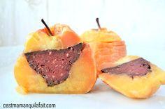 C'est Maman qui l'a fait – Pomme farcie au boudin – recette pomme Tentation