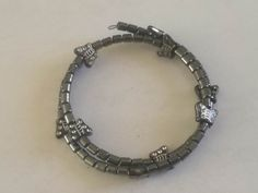 Charcoal Butterfly Flexible Bracelet Dimensions - 60mm x 60mm x 5mm Weight - 12g