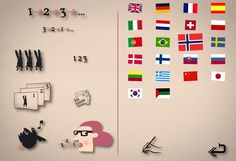 Count the Animals Foreign Language App for Kids - very cool.
