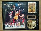 For Sale - Shaquille O'neal 8 X 10 Autographed Plaque w/ card and COA Los Angeles LAKERS - See More At http://sprtz.us/LakersEBay