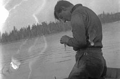 Canadian painter Tom Thomson was last seen setting out on a fishing trip in a canoe on July When his body was found floating in Canoe Lake eight days later, the circumstances behind the young artist's demise became one of Canada's most infamous mysteries. Emily Carr, Canadian Painters, Canadian Artists, Canadian People, Group Of Seven Artists, Franklin Carmichael, Tom Thomson Paintings, Ontario, Algonquin Park