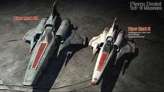 Pierre Drolet Sci-Fi Museum - Viper Mark II and IIB