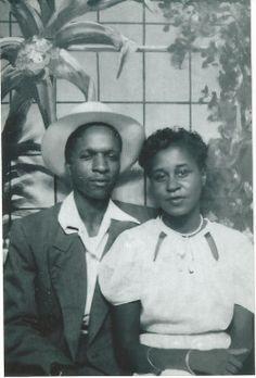 1950′s newlyweds
