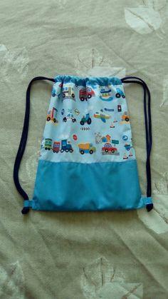 Mochila coches. DIY cars boy bag.