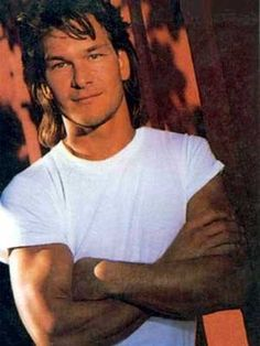Patrick Swayze, was always handsome in his young and older ages!