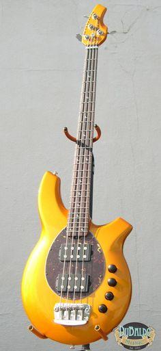 Ernie Ball Music Man Bongo Bass.  The best-sounding electric bass guitar ever made.  Ever, Brian?  Ever, Pinterest.