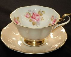 Tea Cup Saucer, Cup And Saucer Set, Tea Cups, Rose Tea, Tea Roses, China Tea Sets, Teapots And Cups, My Cup Of Tea, Tea Service