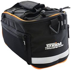 STRiDA Rear Top Rack Bag, Black -- Check this awesome product by going to the link at the image.