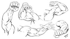 5 Comic Art Arm Poses by RAM - I hope you find these comic style arms useful when creating your character concepts. Check out our website for High Resolution images like these! Good luck with your ART! Comic Drawing, Body Drawing, Figure Drawing, Create Your Character, Comic Art, Comic Books, Hand Pose, Muscle Anatomy, Anatomy Study