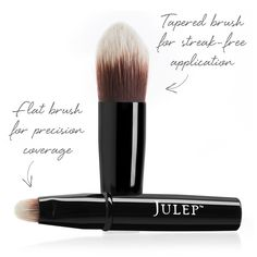 Double Duty Makeup Brush- used 2-3 times, Just too many  like it. Cleaned w/ brush shampoo - $10