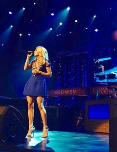 Relisten to Carrie's 1st Opry Show from 5 minutes ago HERE!