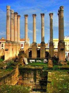 Cordoba  Templo  Romano  Spain