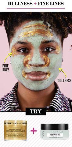 A naturally exfoliating algae mask, which removes the dead, dull layer of skin cells, lets the brighter ones shine through.