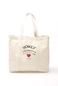 【HOMES' UNDERWEAR】キャンバスビッグバッグ