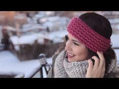 TURBANTE/CINTILLO EN TELAR RECTANGULAR | Danii's Ways ♡ - YouTube