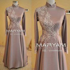 Untitled Hijab Evening Dress, Hijab Dress Party, Long Evening Gowns, Party Wear Dresses, Elegant Dresses For Women, Beautiful Prom Dresses, Dressy Dresses, Kebaya Modern Dress, Moslem Fashion
