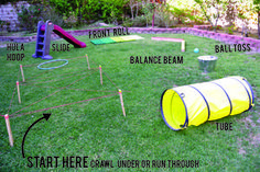 Army obstacle course cake (With images) Happy 7th
