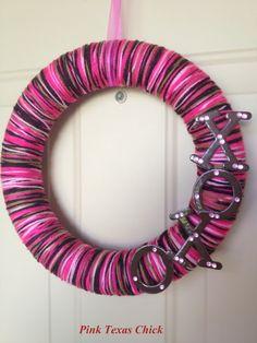 Would also make a cute Birthday wreath!