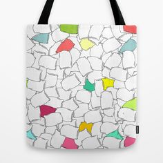 Pillows Pattern Tote Bag by adrijenroman Buy Pillows, Tote Pattern, Roman, Reusable Tote Bags, Stuff To Buy