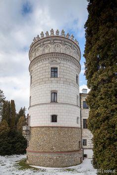 Renaissance Castle in Krasiczyn, southeastern Poland