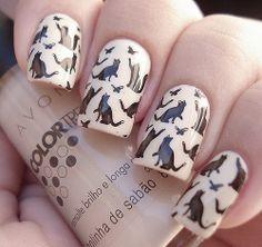 cat nail art ^w^