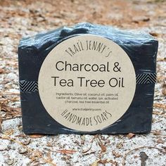 Back in Stock! Charcoal & Tea Tree Oil Soap is perfect for clearing up skin. (I keep a bar in my teenage son�s shower at all times.) 3 key ingredients help to keep your skin clear and glowing: Activated Charcoal, Tea Tree Oil, and Tamanu Oil. Tea Tree Oil Soap, Tea Tree Oil For Acne, Best Face Products, Body Products, Beauty Products, Acne Soap, All Natural Skin Care, Natural Life, Tamanu Oil