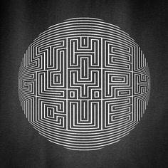 ultrazapping: Labyrinth Letterformations. by MWM...