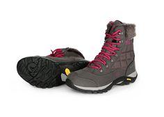 EB Himalaya dámska zimná obuv na šnurovanie, vyrobená zo syntetickej kože v kombinácií s nylonom, s výstelkou zo 100% polyesteru a membránou COMFORTEX, so stabilnou vibramovou podrážkou.