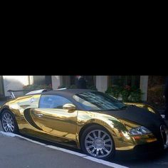 Veyron gold plated