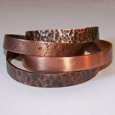 Cuff Bracelet  Copper Cuff  UNISEX  Choose Two by StoneDelite, $40.00