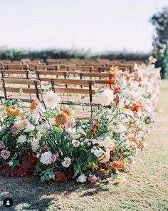 Elegant Wedding, Floral Wedding, Wedding Flowers, Gothic Wedding, Wedding Tips, Fall Wedding, Wedding Planning, Wedding Ceremony Decorations, Wedding Aisles