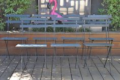 Vintage fold up garden chair metal and wood :price 1 chair only - Australian mid century furniture - Fold Up Chairs, Balcony Table And Chairs, Outdoor Lounge Chair Cushions, Garden Chairs, Lounge Chairs, Cheap Chairs, Chairs For Sale, Cool Chairs, Wood Prices
