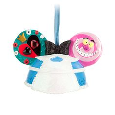 Alice in Wonderland Ear Hat Ornament - Off with her hat!, Item No. 7509055880100P, $22.95