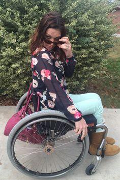 Stylish Gimp: anniversary week wheelchair fashion wheelchair style #CAbi