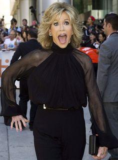 This is What 75 looks like - Jane Fonda ROCKS