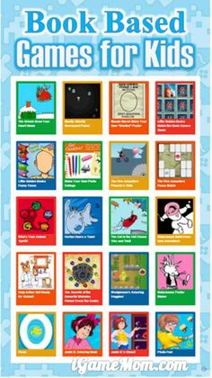Do your kids like to play games? This website from Random House has many games that are based on beloved children's books. There are also a lot printable activities, such as puzzles, coloring pages, crafts. What a fun way to encourage kids to read more! Online Games For Kids, Play Online, Activity Games, Activities For Kids, Heathers Book, Stem Learning, Book Trailers, Random House, Book Crafts