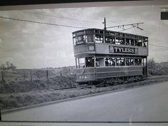 Tram on the Chapelizard road lower Ballyfermot Old Photos, Vintage Photos, Dublin City, History Photos, Dublin Ireland, Vintage Photography, Buses, Trains, Roots