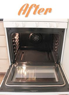 How To EASILY Clean Your Oven!