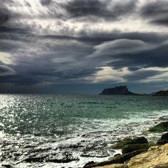Calpe visto desde Moraira! Beauty!